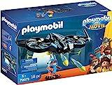 PLAYMOBIL:THE MOVIE 70071 Robotitron mit Drohne, Ab 5 Jahren