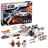 LEGO 75301 Star Wars Luke Skywalkers X-Wing Fighter Spielzeug mit Prinzessin Leia und Droide R2-D2 als Figur