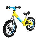 Home Equipment Balance Bikes Kinder Leichtes 12 'Aluminium Balance Bike Anti-Rutsch-Lenker Kein Pedal Kleinkinder Sporttraining Laufrad Für Kinder im Alter von 18 Monaten bis 6 Jahren Jungen und Mä