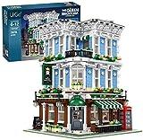 LAKIOMZ Queen Bar Bauset, Haus Modular Building, Street View Architecture Modell, 3678pcs Bausteine Kompatibel mit Lego