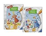 tiptoi Ravensburger Bücher Set Schule - Lern mit Mir - Deutsch 1. Klasse und Mathe 1. Klasse / Rechnen, Erste Zahlen, Mathematik, Buchstaben