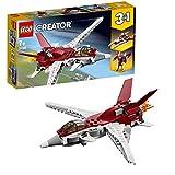 Lego 31086 Creator Flugzeug der Zukunft, Raumschiff der Zukunft oder Roboter der Zukunft, 3-in-1 Bauset, Science-Fiction-Abenteuer, Fahrzeugspielzeuge für Kinder ab 7 Jahren