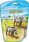 PLAYMOBIL Wild Life 6941 Warzenschweine, Ab 4 Jahren
