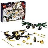LEGO 76195 Marvel Spider-Mans Drohnenduell, Spielzeug für Kinder ab 7 Jahren, tolles Weihnachts- oder Geburtstagsgeschenk