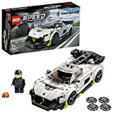 LEGO 76900 Speed Champions Koenigsegg Jesko Rennauto, Spielzeugauto, Modellauto zum selber Bauen