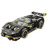 Leic Technic Rennwagen Modell 360Pcs Baustein Sportwagen Montage Lernspielzeug für Lamborghini EVO Kompatibel mit Lego