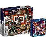 Collectix Lego Marvel Set: Spider-Man in der Sanctum Werkstatt 76185 + Miles Morales Mech 76171, für Kinder ab 7 Jahren