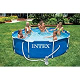 Intex 28202GN Metal Frame Pool - Aufstellpool - Ø 305 x 76 cm