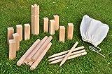 Wikinger Schach Wurfspiel - Holz Garten Spielzeug Geschicklichkeitsspiel Outdoor Spiel