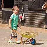 garden mile Kinder Schubkarre Kinder Spielzeug Garten Schubkarre Bunt Praktisch Spielset Kinder Outdoor Spielzeug