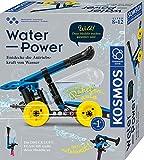KOSMOS Water Power, Entdecke die Antriebskraft von Wasser, Bausatz für Raketen-Auto, Wasserpistole, Rasensprenger, Boot, Experimentierkasten für Kinder ab 8-12 Jahre, Spielzeug für drinnen und draußen