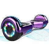 MARKBOARD Hoverboard, 6,5 'selbstausgleichender Roller, Hoverboard mit leuchtenden Rädern, Kinder zwischen 8 und 12 Jahren