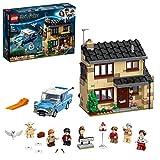 LEGO 75968 Harry Potter Ligusterweg 4, Spielzeug-Haus mit Ford Anglia sowie Minifiguren von Dobby und Familie Dursley