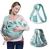 tragetuch baby,tragetuch,baby trage,geschenk zur geburt,Baby Wrap Carrier Neugeborene Sling Dual Use Infant Nursing Cover Carrier Mesh Stoff Stillträger