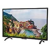 Goshyda 43'' Großer Gebogener Monitor, Netzwerkversion 3000R Curvature Smart 4K HDR HD-Fernseher mit Künstlicher Intelligenz, Stimme und HDR-Echtzeitkonvertierung(EU)