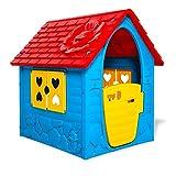 thorberg Kinderspielhaus bunt (Made in EU) Kinderhaus Spielhaus