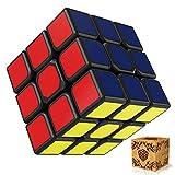 SPLAKS Zauberwürfel 3x3x3 magische Würfel original Speed Cube mit einstellbar Dreheigenschaften für Cornercutting Speed-Cubing