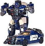 Geburtstagsgeschenk Verwandeln Sie Spielzeuge Roboter Polizei Spielzeug Autoverformung Auto Action Figure Geburtstagsgeschenke für Kinder wünschen Ihnen Frohe