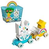 LEGO 10953 DUPLO Mein erstes Einhorn Spielzeug für 1,5-jährige Jungen & Mädchen, Mein erstes Bauset