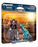 PLAYMOBIL Dinos 70693 DuoPack Velociraptor vs. Plünderer, Ab 4 Jahren