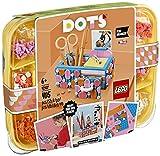 LEGO 41907 DOTS Stiftehalter mit Schublade, Schreibtisch-Organizer, Kinderzimmer-Deko, Basteln für Kinder
