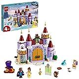 LEGO 43180 Disney Princess Belles winterliches Schloss, Die Schöne und das Biest, Spielzeug für Vorschulkinder ab 4 Jahren