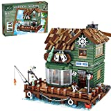 URGE Modular Building Haus, Hafen Taverne Stadthaus Konstruktionsspielzeug Kompatibel mit Lego - 3103 Teilen