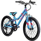 Galano GA20 Mountainbike 24 Zoll Jungen Mädchen Fahrrad für Jugendliche Jugendfahrrad MTB Hardtail Jugend Kinder Fahrrad ab 8 Jahre Mountain Bike 21 Gänge (blau, 30 cm)