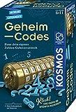 KOSMOS 658076 Geheim-Codes, Baue ein eigenes Zahlen-Geheimversteck, Codes knacken, Nachrichten und Geheimnisse verschlüsseln, Experimentierset für Kinder ab 8 - 11 Jahre, Kryptex Mitbringsel Geschenk