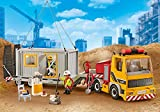 PLAYMOBIL Niedriges Ladegerät mit Container 9898