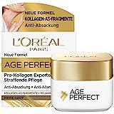 L'Oréal Paris Straffende Tagespflege für reife Haut, Anti-Aging Feuchtigkeitspflege gegen Altersflecken, Für reife Haut, Mit Kollagen-AS-Fragmenten, Age Perfect Pro-Kollagen Experte, 50 ml