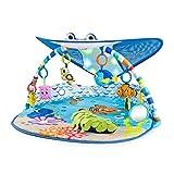 Bright Starts, Disney Baby, Findet Nemo Spieldecke mit Spielbogen, Lichtern und mehr als 20 Minuten Melodien, einer Dorie Fingerpuppe und vielem mehr