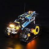 LED Beleuchtungsset für ferngesteuerte Stunt Racer - Kompatibel mit Lego 42095 Bausteine Modell- Enthält kein Lego Set