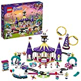 LEGO 41685 Friends Magische Jahrmarktachterbahn, Freizeit und Vergnügunspark mit Zaubertricks für Kinder, Spielzeug ab 8 Jahren