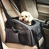 Raelf Große Kapazität Hund Walking Pet Bag Hundebox Autositz und Faltbare Reise Tragetasche für Hunde und Katzen Tragen Atmungsaktive Haustiertasche Mesh Tuch Oxford Pet Bag