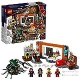 LEGO 76185 Marvel Spider-Man in der Sanctum Werkstatt, Spielzeug für Kinder ab 7 Jahren mit Monsterinsekt und Doctor-Strange-Minifigur