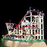 BRIKSMAX Led Beleuchtungsset für Lego Creator Expert Achterbahn, Kompatibel Mit Lego 10261 Bausteinen Modell - Ohne Lego Set