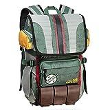 Rebels Alliance Icon Boba Fett Laptop Rucksack Star Wars Element Tasche Reisetasche mit Gepäckanhänger, Boba Fett, Einheitsgröße, Reiserucksack