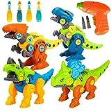 Spielzeug 3 4 5 6 Jahre Junge,Dinosaurier Spielzeug ab 3 4 5 6 Jahre Kinder Jungen Geschenke Bausteine Konstruktionsspielzeug Lernspielzeug für Jungen und Mädchen Geschenke für Kinder 4-9 Jahren