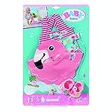 BABY born Holiday Badespaß Set für 43cm Puppe - Leicht für Kleine Hände, Kreatives Spiel fördert Empathie & Soziale Fähigkeiten, für Kleinkinder ab 3 Jahren - Inklusive Badeanzug, Schwimmring & Clogs