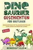 Dinosaurier Geschichten für Erstleser: Dinosaurier Buch mit tollen Geschichten zum Lesen lernen für Kinder ab 5 Jahren - ideal für die Vor- und Grundschule