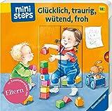 ministeps: Glücklich, traurig, wütend, froh: Ab 18 Monaten (ministeps Bücher)
