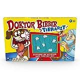 Hasbro Doktor Bibber Tierarzt Spiel für 2 oder mehr Spieler, für Kinder ab 6 Jahren, mit lustigen Geräuschen und Alarm