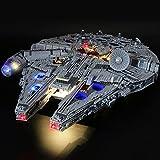 Licht-Set Für (Star Wars Millennium Falcon) Modell - LED Licht-Set Kompatibel Mit Lego 75192, Modell Nicht Enthalten