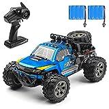 Tantselas Ferngesteuertes Auto, 1:18 2WD RC Auto Off Road Buggy, 2.4 Ghz Radio Control Geländewagen Spielzeug Fahrzeug für Kinder Erwachsene