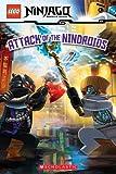 Attack of the Nindroids (LEGO Ninjago: Reader) (LEGO Ninjago Reader Book 8) (English Edition)