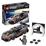 Lego 75892 Speed Champions McLaren Senna Rennwagen, Bauset mit Rennfahrer-Minifigur, Forza Horizon 4 Erweiterungsset