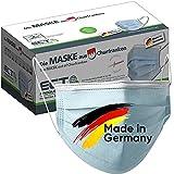 Medizinische Op Masken MADE IN GERMANY Typ IIR CE Zertifiziert DIN EN 14683 50 Stück Mundschutz Masken Einwegmaske Gesichtsmaske Schutzmaske