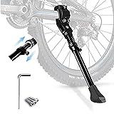 Fahrradständer für 24-28Zoll,Fahrradrahmen aus Aluminiumlegierung, Höhenverstellbarer Fahrradständer,Rutschfester Gummiständer, für Mountainbike, Rennrad,KinderFahrräder und Klapprad, höhenverstellbar