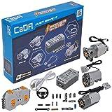 Power System inkl. 3 Motoren, LED, Akku-Box & 2.4Ghz Fernsteuerung (kompatibel mit vielen Modellen & Lego Power Functions)